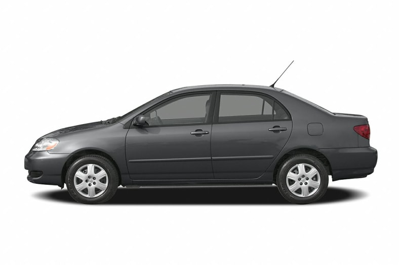 2005 toyota corolla curb weight