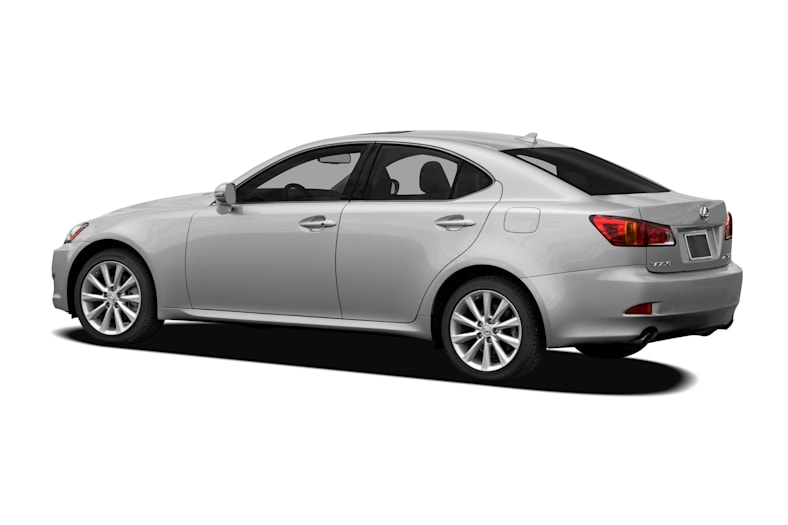2010 lexus is 350 base 4dr rear-wheel drive sedan safety features