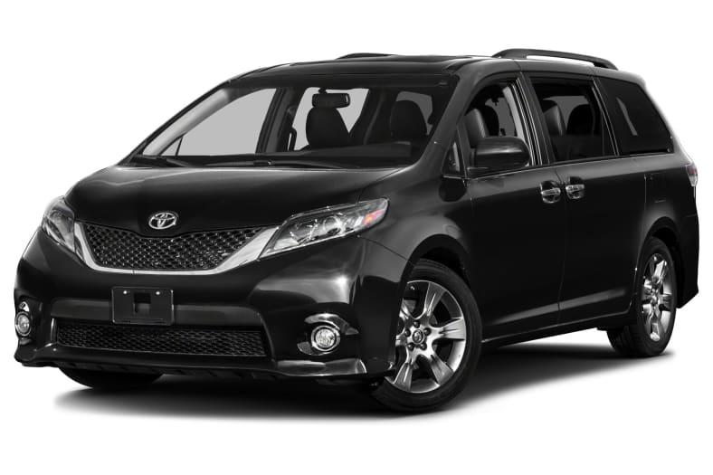 2017 Toyota Sienna Se Premium 8 Passenger 4dr Front Wheel