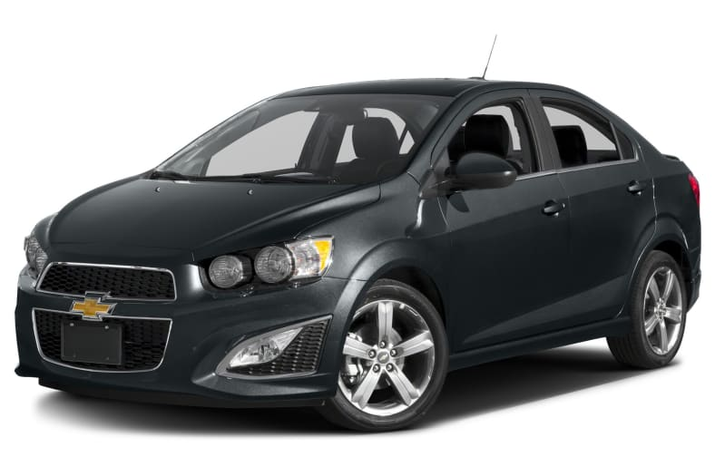 2016 Chevrolet Sonic RS Manual 4dr Sedan
