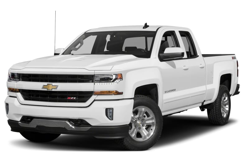 2017 Chevrolet Silverado 1500 LT w 2LT 4x4 Double Cab 6 6 ft box