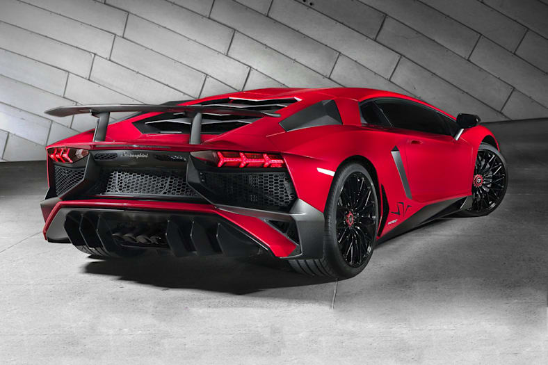 2017 Lamborghini Aventador Lp750 4 Superveloce 2dr All Wheel Drive
