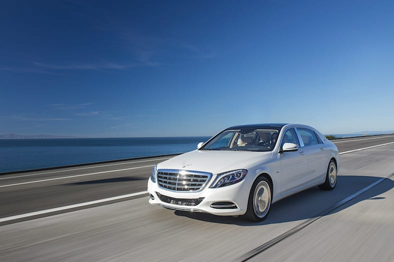 2017 Mercedes-Benz Maybach S 550 Exterior Photo