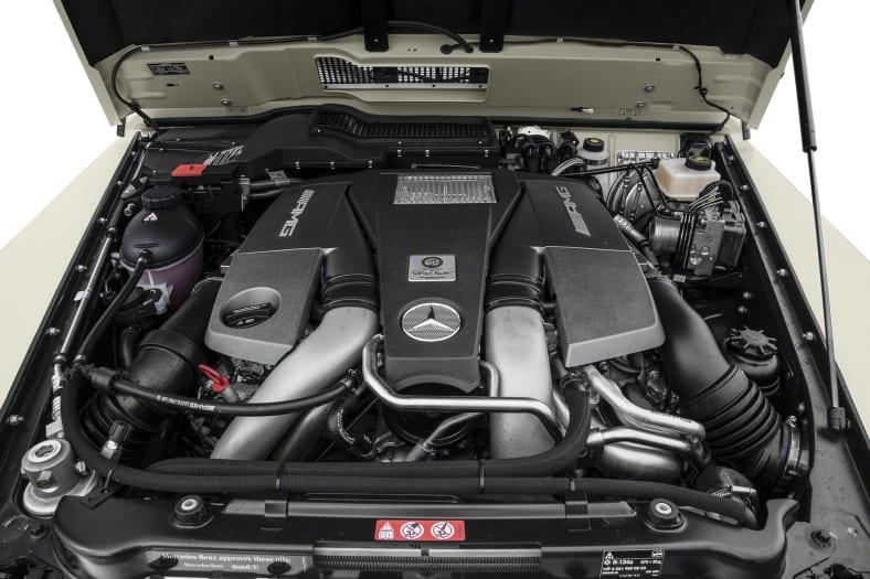 2017 Mercedes-Benz AMG G 63 Exterior Photo