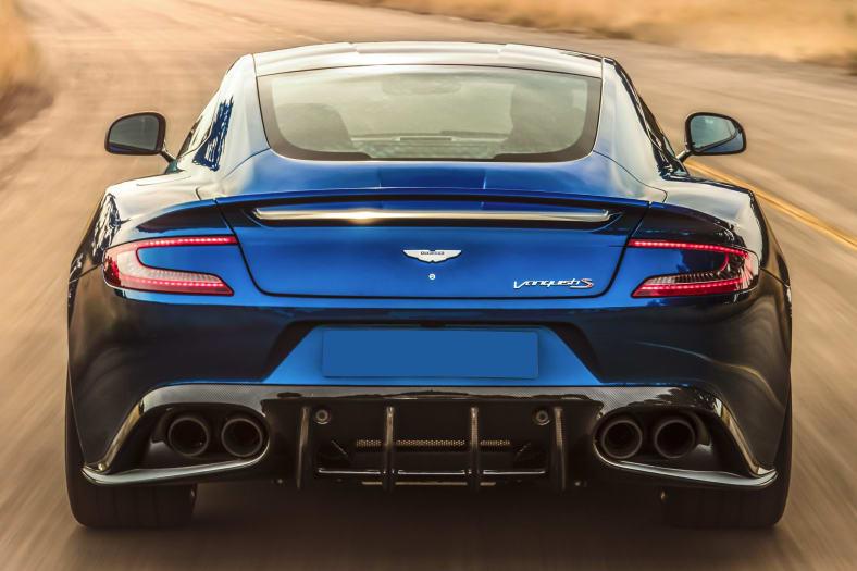 2018 Aston Martin Vanquish Information