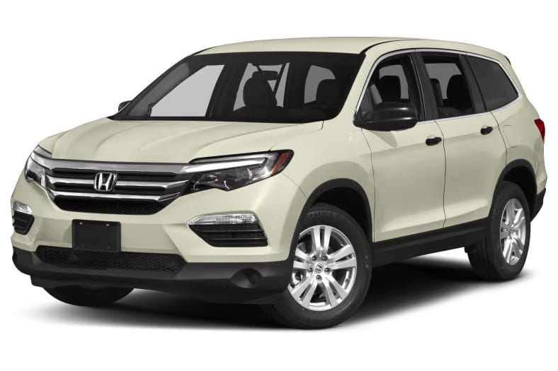 Beautiful Honda Pilot White 2017