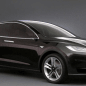 black model x passenger side