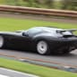 Zagato Mostro Maserati on track rear 3/4