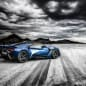 W Motors Fenyr SuperSport blue rear 3/4