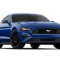 Ford Mustang EcoBoost Coupe in blue