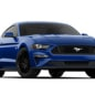 2018 Ford Mustang GT Coupe in blue