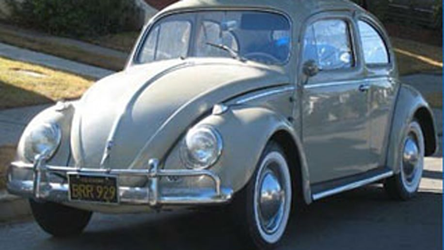 The 1960s VW Beetle