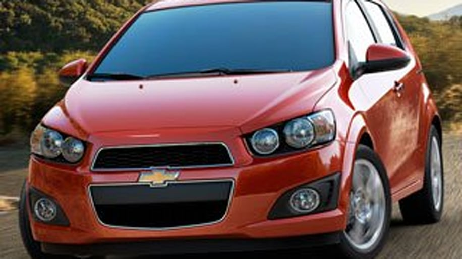 Honorable Mention: 2012 Chevrolet Sonic
