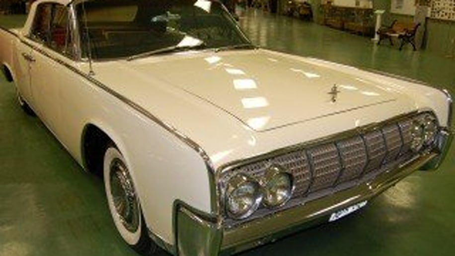 LBJ's 1964 Lincoln Continental Limo