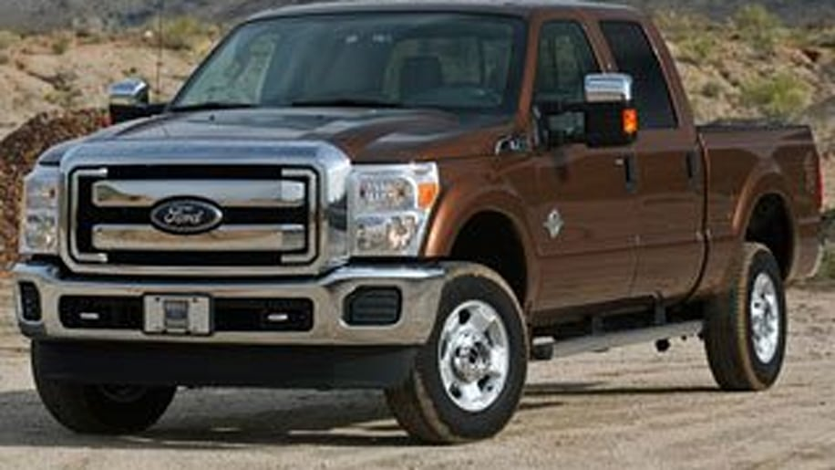 3. 2011 Ford F-350