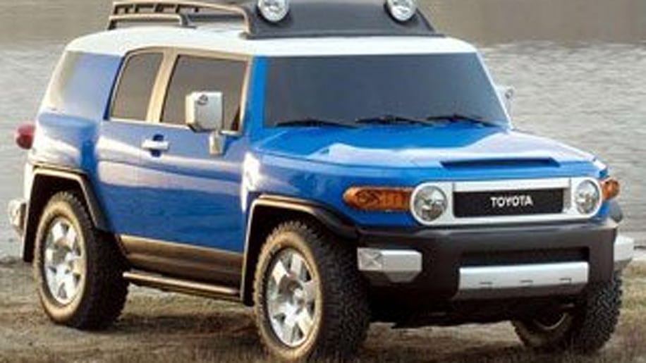 Compact Crossover/SUV Third Place: Toyota FJ Cruiser