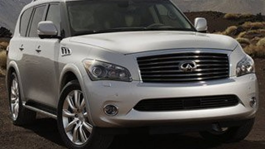 Large Premium Crossover/SUV Runner Up - Infiniti QX56