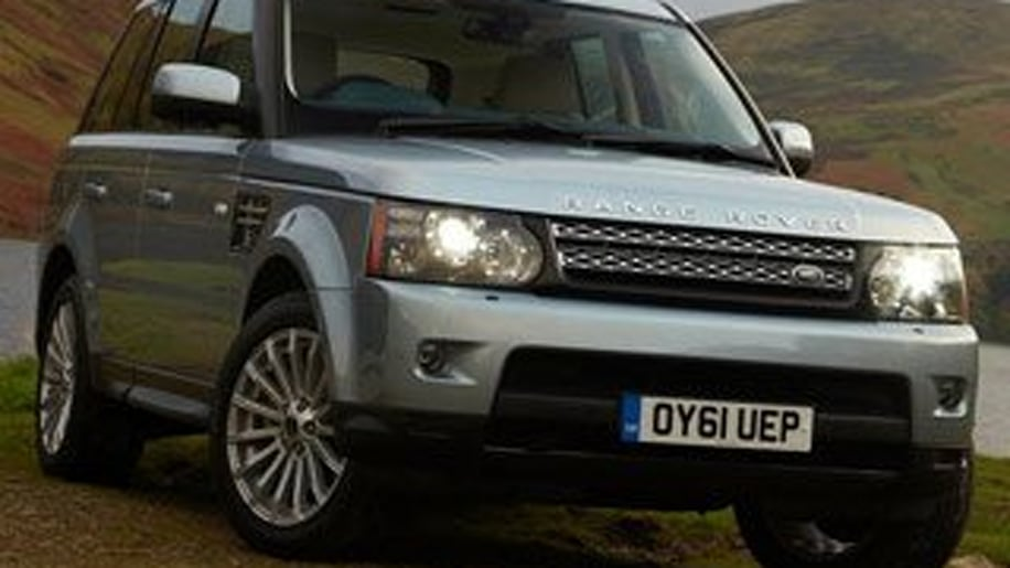 Large Premium Crossover/SUV Third Place - Range Rover Sport