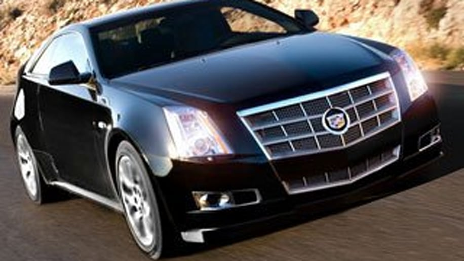 7. 2012 Cadillac CTS Coupe