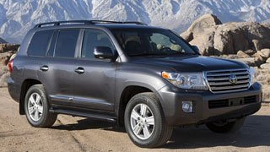 9. Toyota Land Cruiser