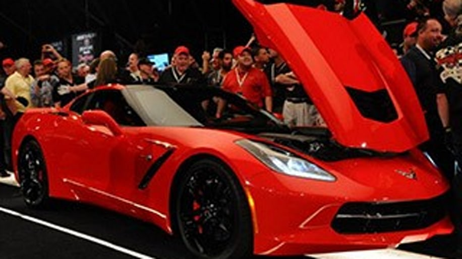First 2014 Chevy Corvette Stingray