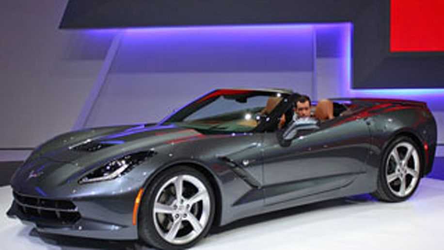 2014 Chevy Corvette Convertible
