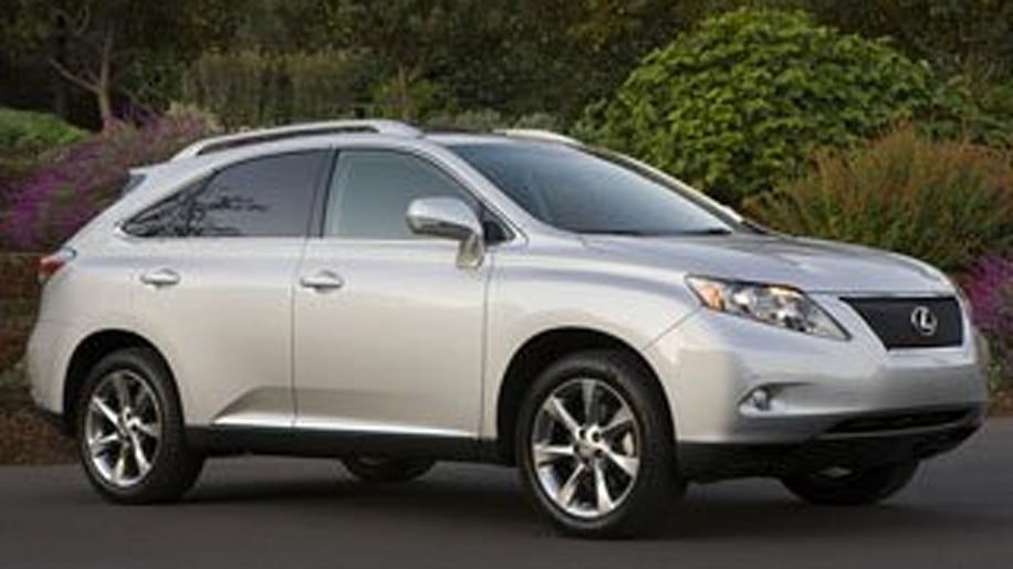 Luxury 2-Row Midsize SUV - Lexus RX 350