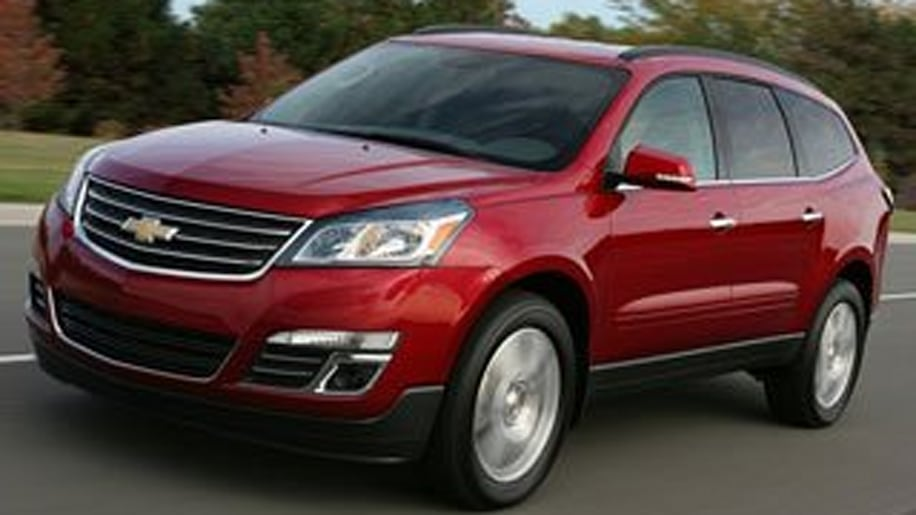 3-Row Midsize SUV - Chevrolet Traverse