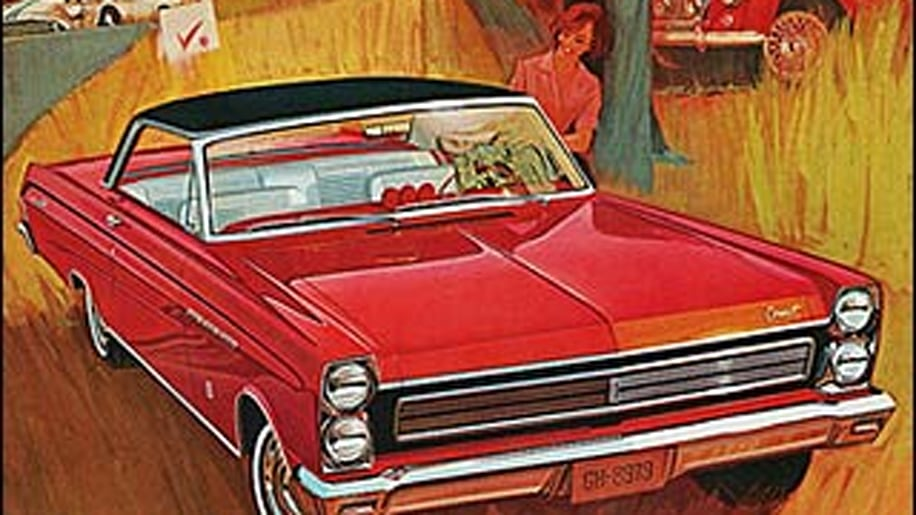 1965 Comet Cyclone Coupe Holman Moody