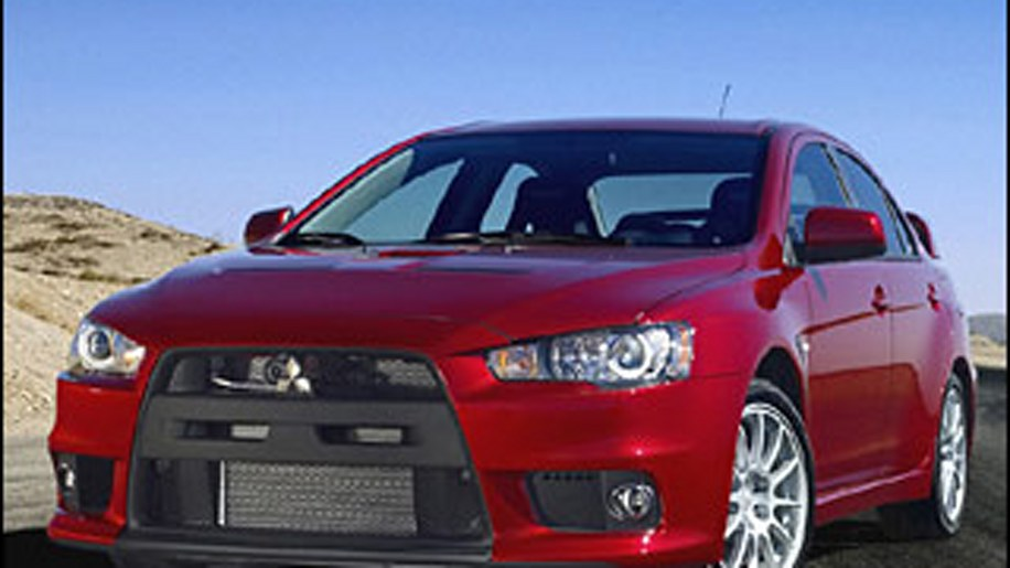 Alternative: Mitsubishi Lancer Evolution MR
