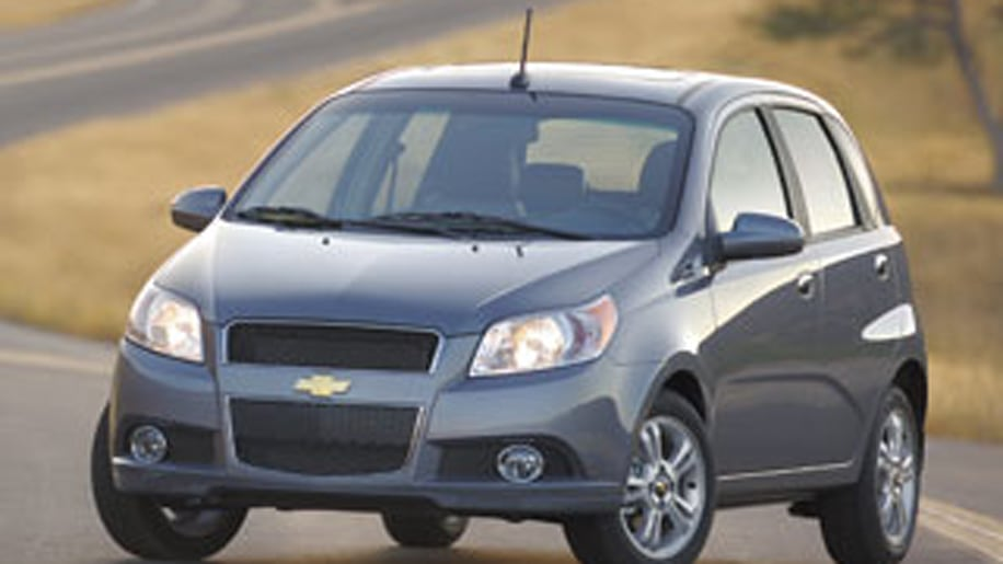 #5 Cheapest: Chevy Aveo