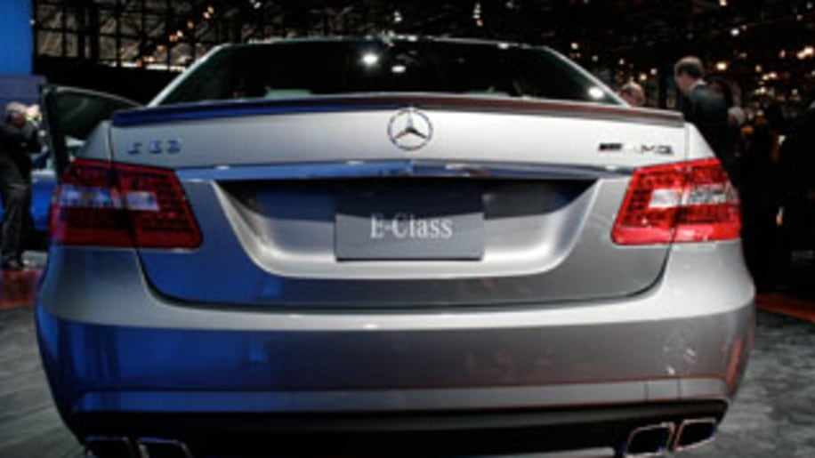 New York Auto Show: Mercedes-Benz E63 AMG