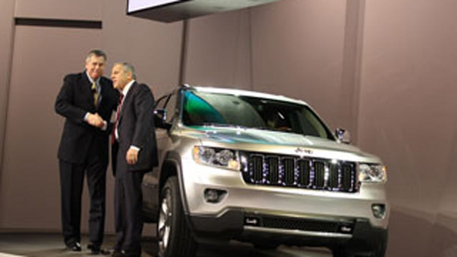 New York Auto Show: Jeep Grand Cherokee