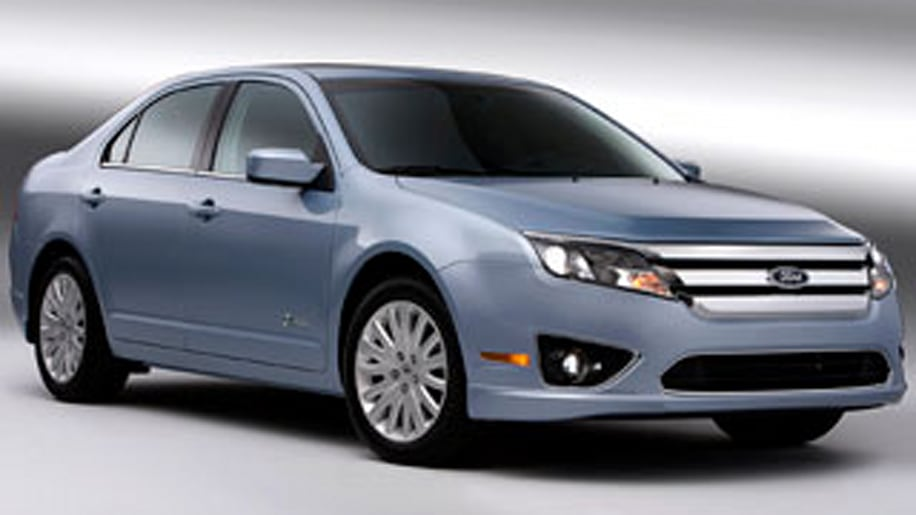2. Ford Fusion Hybrid (tied with Mercury Milan Hybrid )