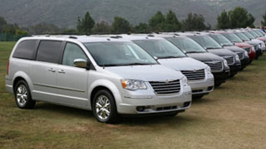 Reason #7: There Are Hardly Any Minivans To Pick From