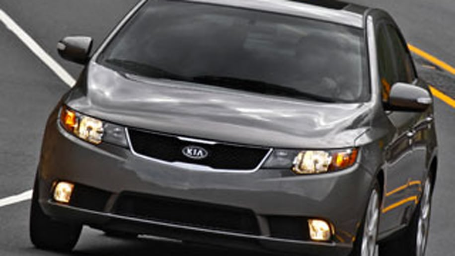 9. Kia Forte (tied with Hyundai Accent)