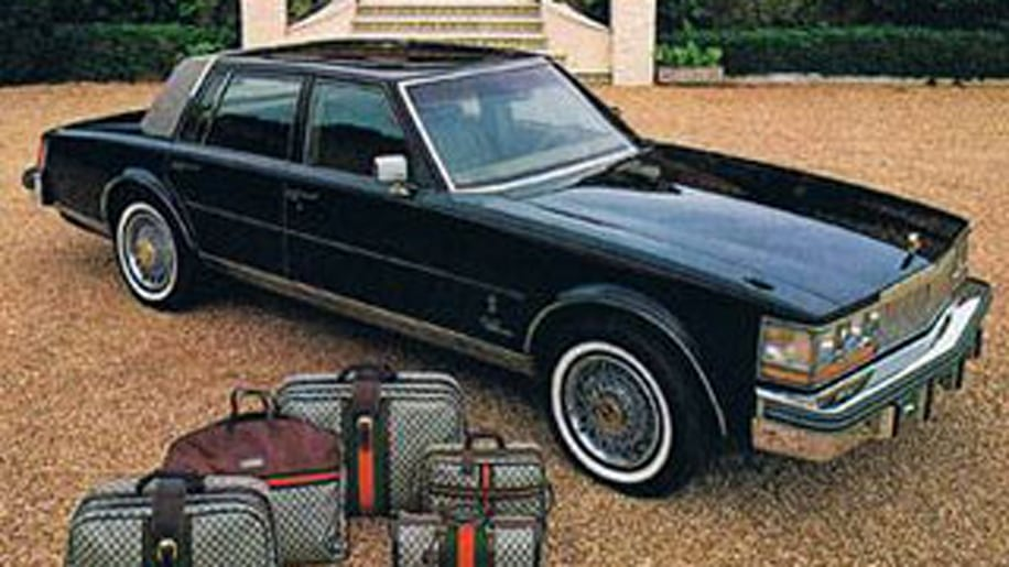 Cadillac Seville by Gucci: Car meets couture