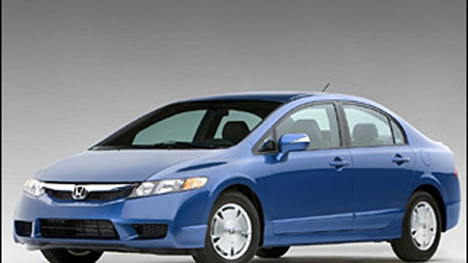9. Honda Civic Hybrid