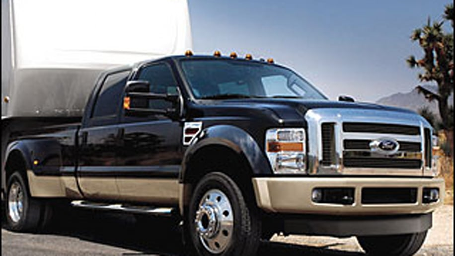Large Heavy-Duty Pickup: Ford Super Duty
