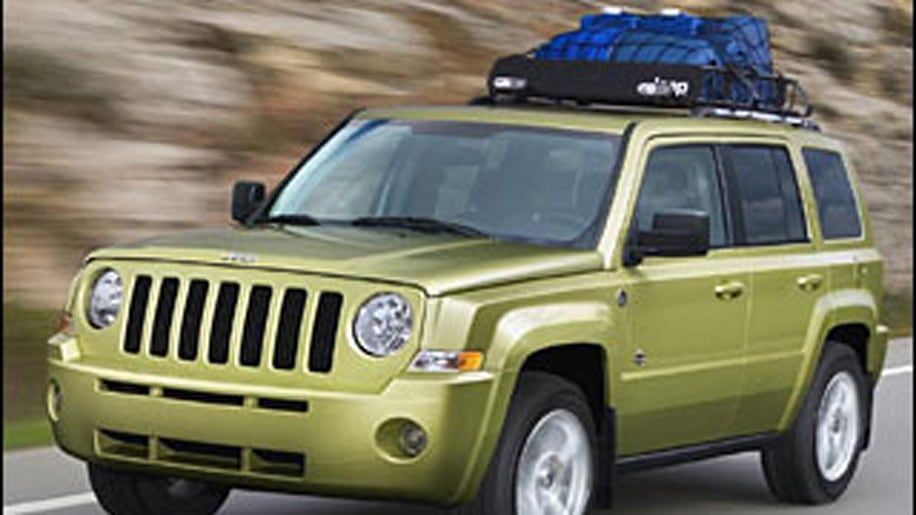 Jeep Patriot (with optional side thorax airbags)