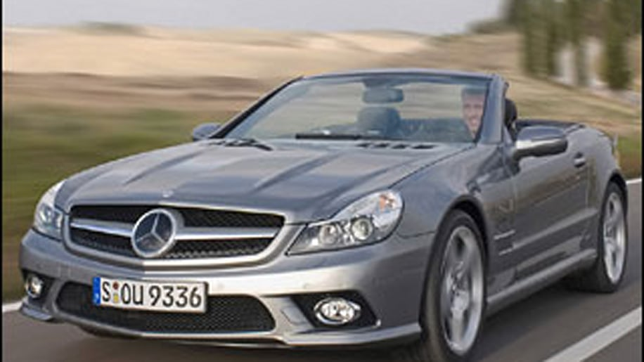 Super Car: Mercedes-Benz SL Roadster