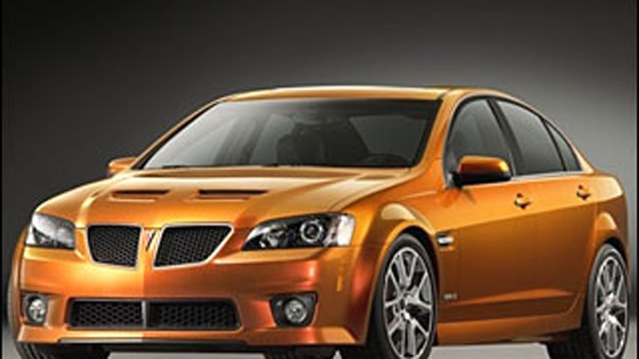 Alternative: Pontiac G8 GT