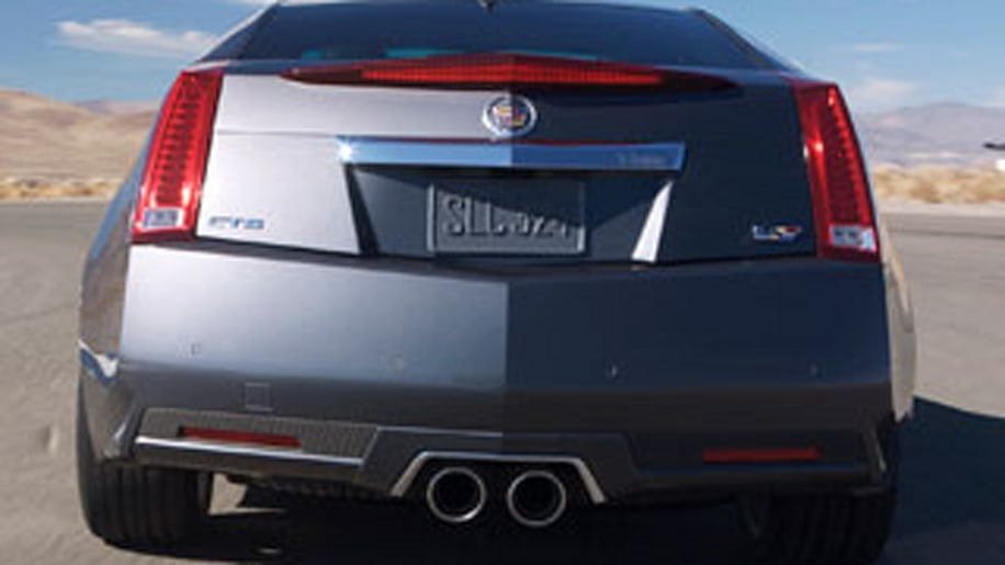 2011 CTS-V Coupe Unveiled: Serious Performance