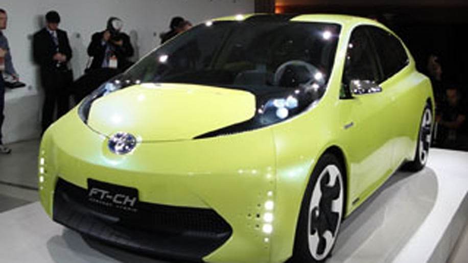 Toyota FT-CH HybridBest Tiny Hybrid of the Future