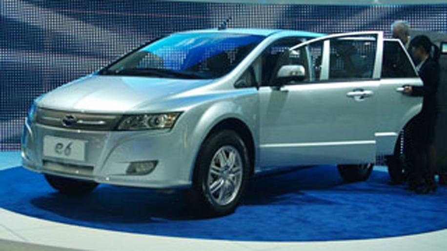 BYD e6Best Chinese Car We've Seen
