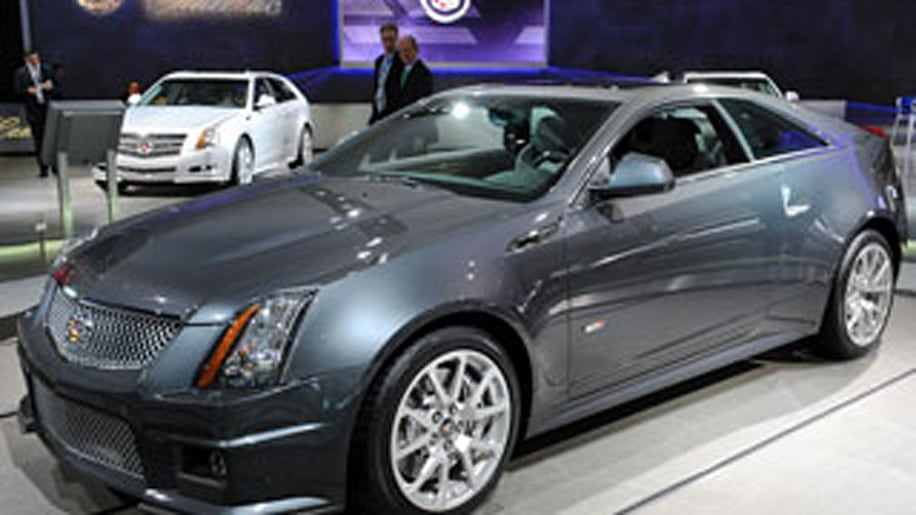 Cadillac CTS-V CoupeBest Sports Car