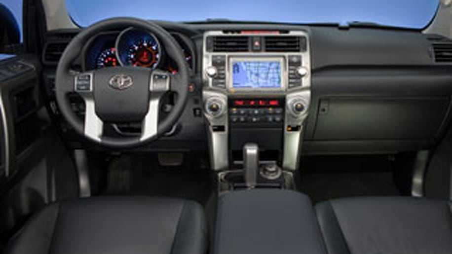 2010 Toyota 4Runner — Inside