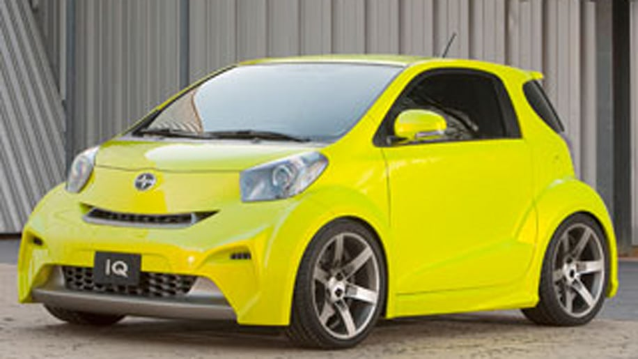 2011 Scion iQ: The World's Smallest 4-Seat Car