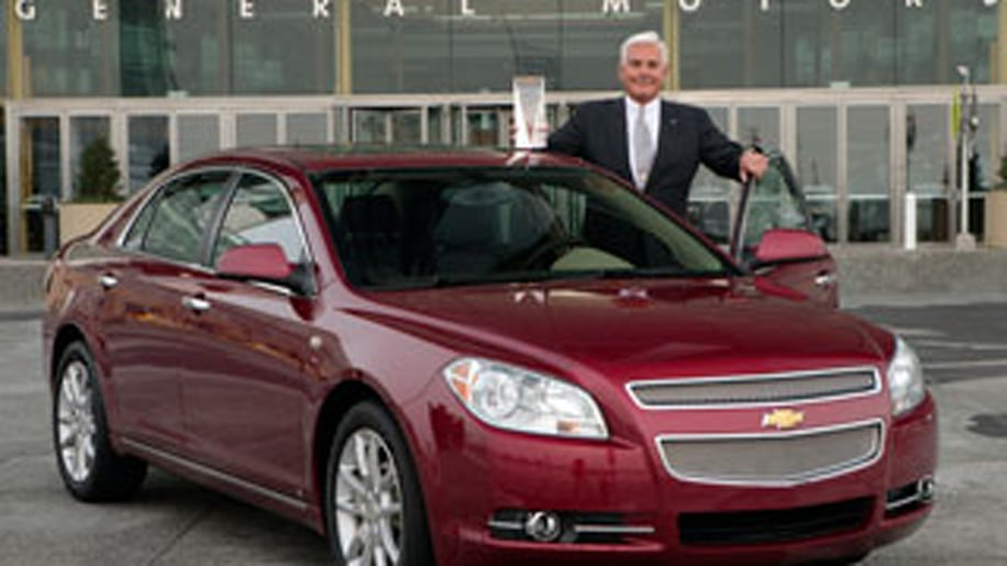 The Redesigned Chevy Malibu