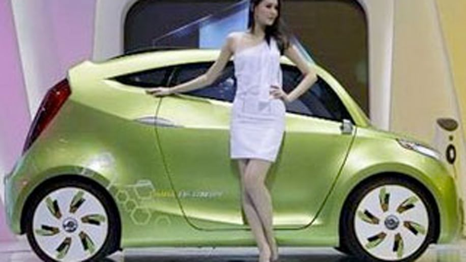 Five Vehicles That Just Make Us Snicker and Tweet: Chana EV-concept electric